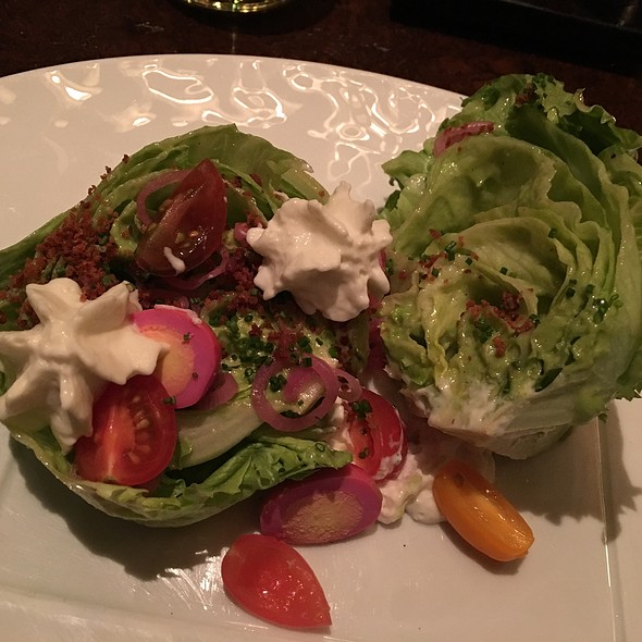 Wedge Salad w/ Blue Cheese - BOURBON STEAK San Francisco, San Francisco, CA