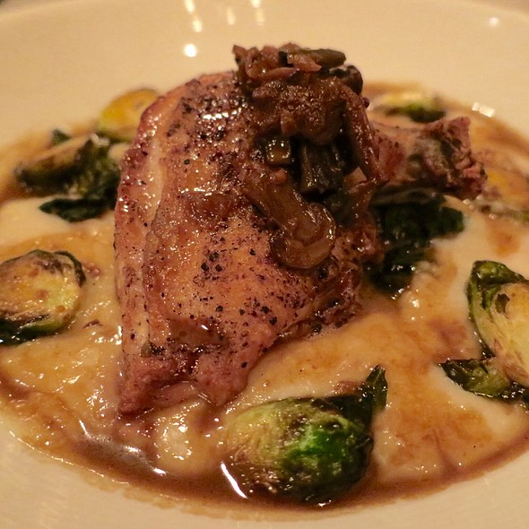 Chicken Forestier - The Firehouse Restaurant, Sacramento, CA