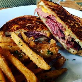 Pastrami Sandwich - Cafeteria Boston, Boston, MA