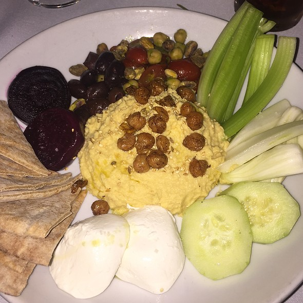 Hummus Plate - Steve & Cookie's By the Bay, Margate, NJ