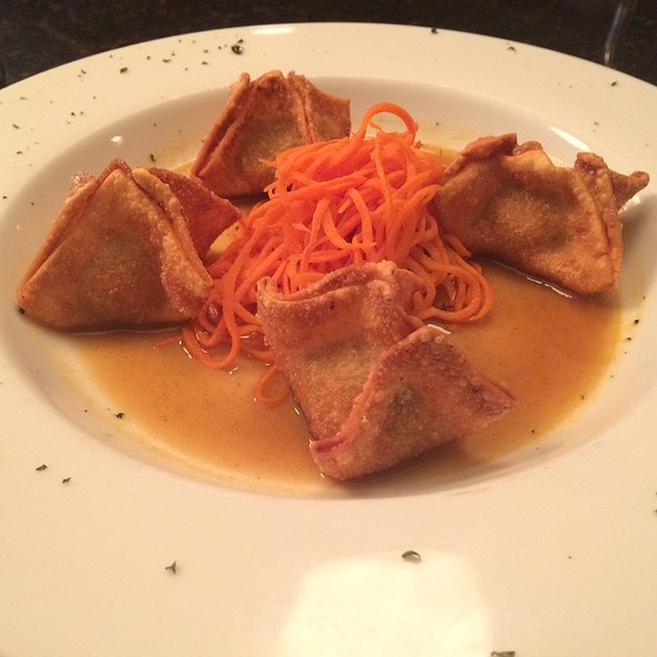 Chicken Dumplings With Soy-Ginger Sauce - Monocacy Crossing, Frederick, MD