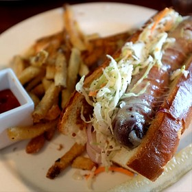 Tavern Hot Dog - Bedford Village Inn, Bedford, NH