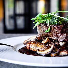 Steak And Mushrooms - Midtown Grille, Raleigh, NC