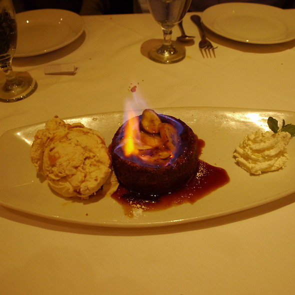 Flaming Bananas Foster - Wildfish Seafood Grille - Newport Beach, Newport Beach, CA