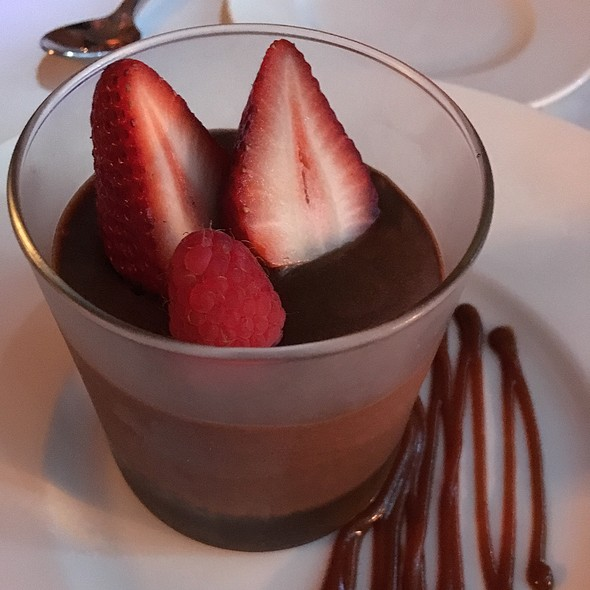 Homemade Nutella Mousse - Villa Azur, Miami Beach, FL