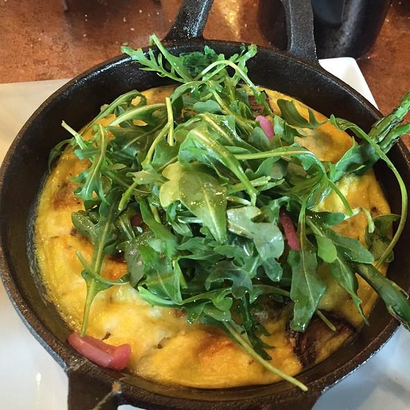 Goat Cheese Fritata - Creo Restaurant, Albany, NY