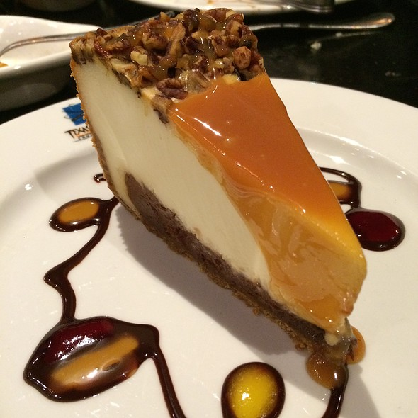 Brazilian Cheesecake - Texas de Brazil - Detroit, Detroit, MI