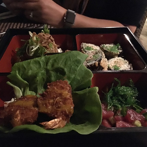 bento box - The Plantation House Restaurant, Kapalua, HI