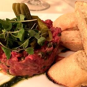 steak tartare - Lavender Bistro, La Quinta, CA