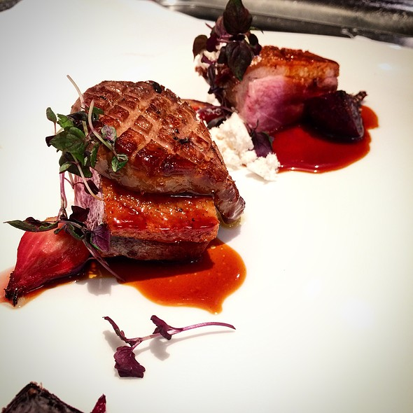 La Belle Duck Breast, Confit Duck Leg, Foie Gras , Beets - Tosca Ristorante, Washington, DC