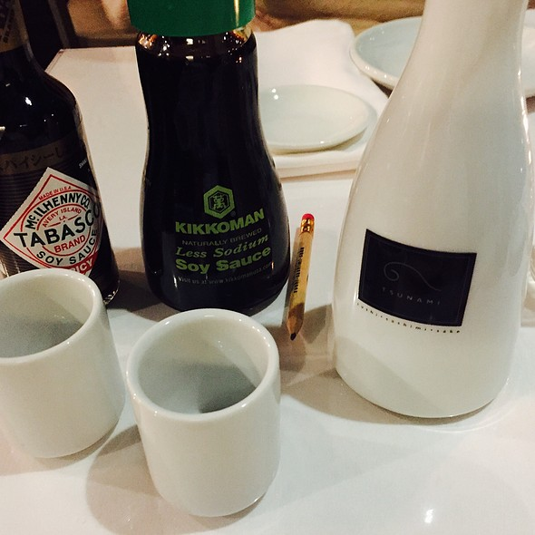 Sake And Soy Set Up Service - Tsunami Shaw Center - Baton Rouge, Baton Rouge, LA
