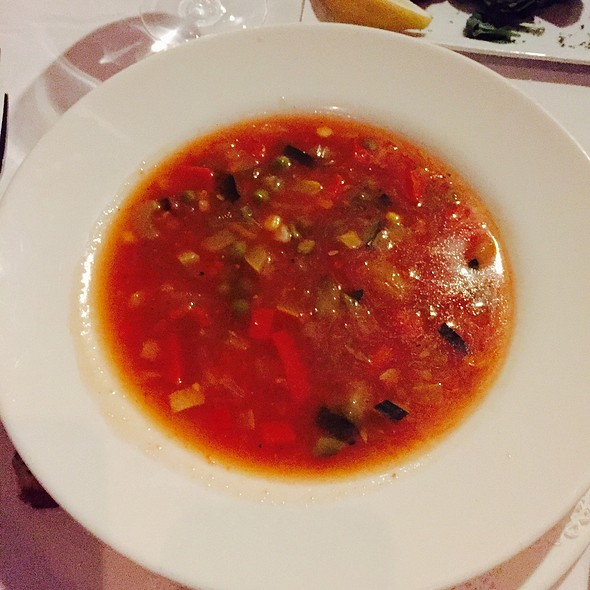 Shrimp And Vegetable Soup - Noto's Old World Italian Dining, Grand Rapids, MI