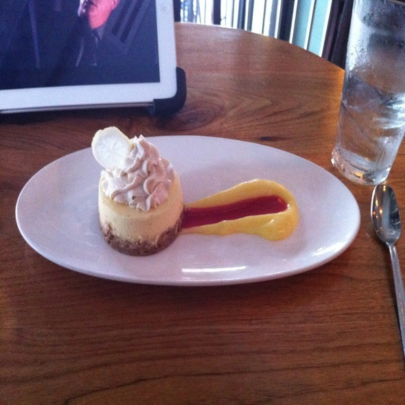 Lemon Cheesecake - Bluegrass Tavern, Baltimore, MD