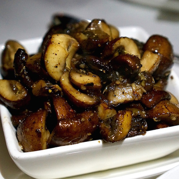 Sautéed button mushrooms - ELWAY'S Downtown, Denver, CO