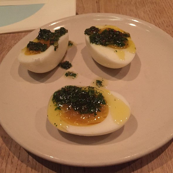 Soft Boiled Eggs - Bar Agricole, San Francisco, CA