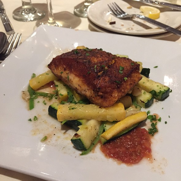 Grilled Salmon with Zucchini - The Gables at Chadds Ford, Chadds Ford, PA