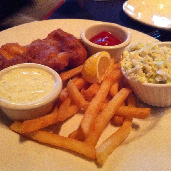 Fish and Chips - Cedar Creek Inn - Brea, Brea, CA