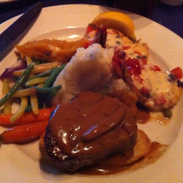 Steak and Shrimp - Cedar Creek Inn - Brea, Brea, CA