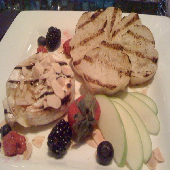 Grilled Brie With Fruit - Tavern In The Village, Prairie Village, KS