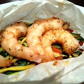 Shrimp En Papillote - Cafe 501 - Classen Curve, Oklahoma City, OK