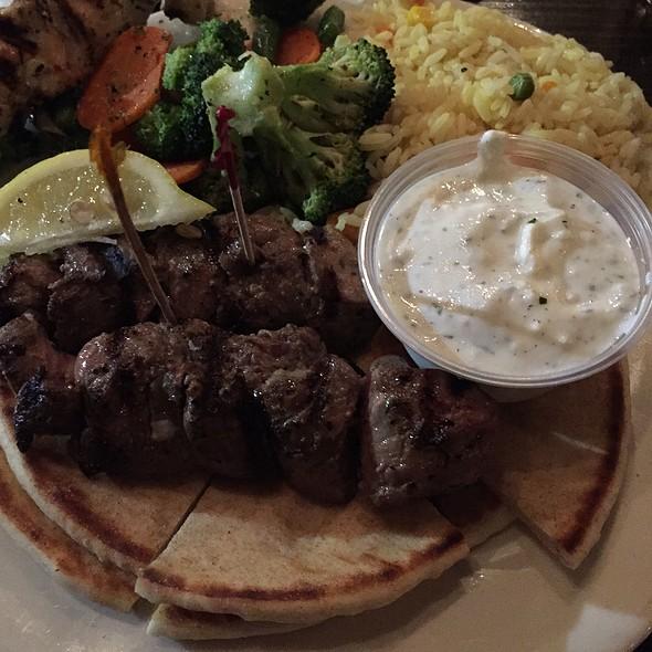Kafta Platter - George's Greek Cafe - Pine Street, Long Beach, CA