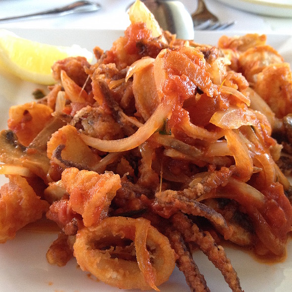 Calamari Calabrese - Scoma's Sausalito, Sausalito, CA