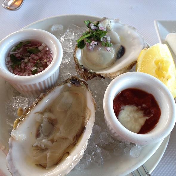 Nantucket oysters - Scoma's Sausalito, Sausalito, CA
