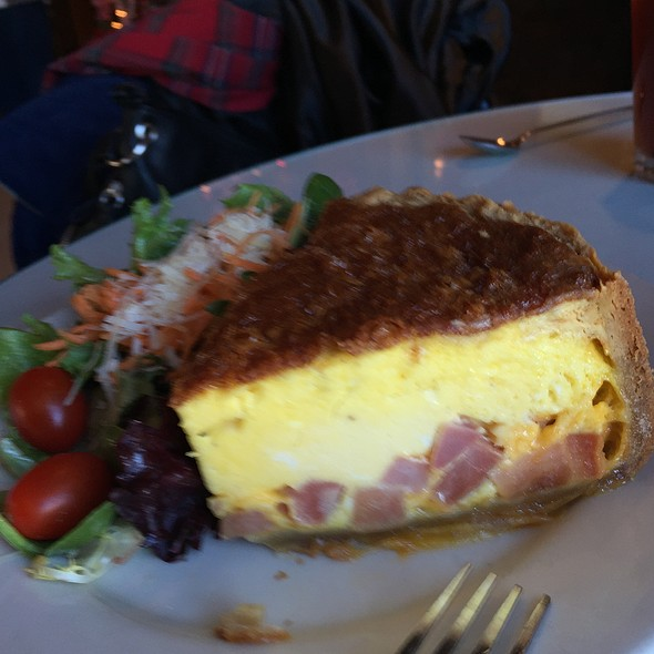 Ham Quiche - Robin's Nest Restaurant, Mount Holly, NJ