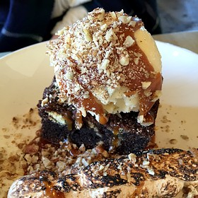 Chocolate Bread Pudding - The Optimist, Atlanta, GA