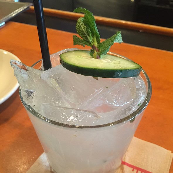Cucumber Cooler - Big Bowl - Schaumburg, Schaumburg, IL