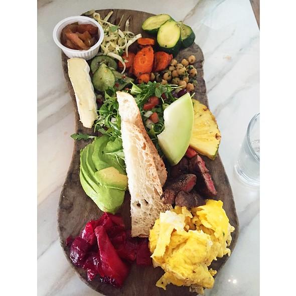 Farmer's Board - Café 21 – Gaslamp, San Diego, CA