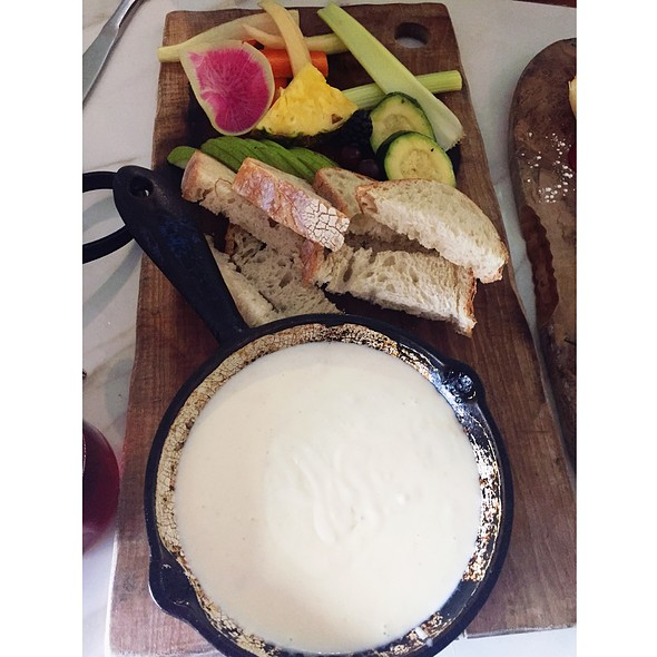 Happy Hour Cheese Fondue - Café 21 – Gaslamp, San Diego, CA