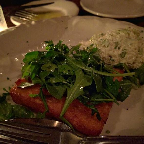 Crab Salad With Fried Polenta - Bacaro, New York, NY