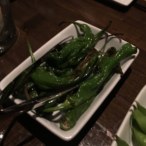 Shishito Peppers - Koi Restaurant and Lounge, Las Vegas, NV