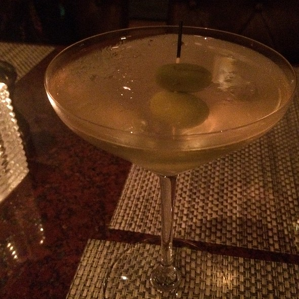 Dirty Martini - Stark's Steakhouse, Santa Rosa, CA