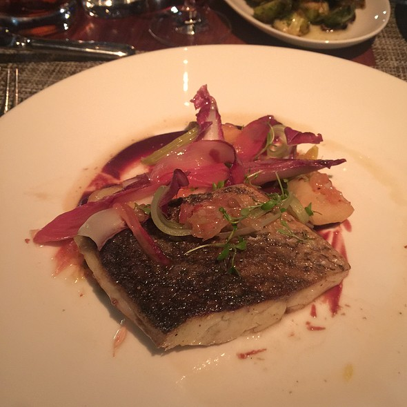 Roasted Sea Bass - Riverpark, New York, NY