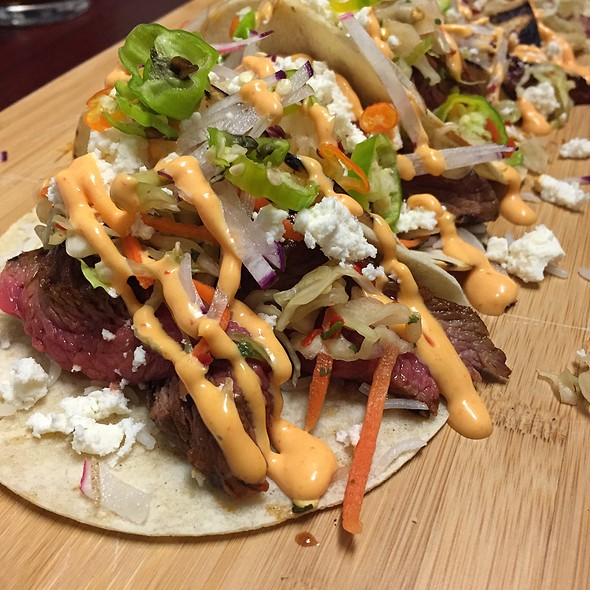 Skirt Steak Tacos - The Grille Fashion Cuisine, Wellington, FL
