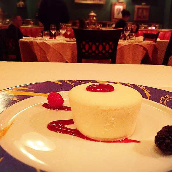 traditional cheese cake - Russian Tea Room - NYC, New York, NY