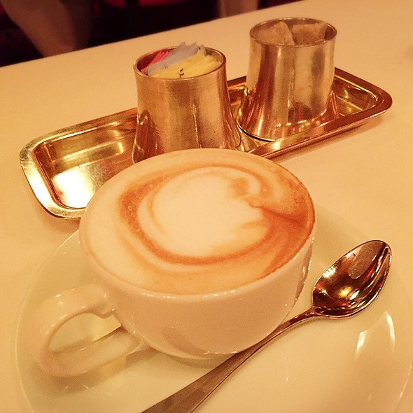 Cappuccino - Russian Tea Room - NYC, New York, NY