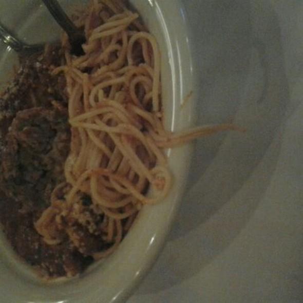 Spaghetti - Maggiano's - Boston, Boston, MA