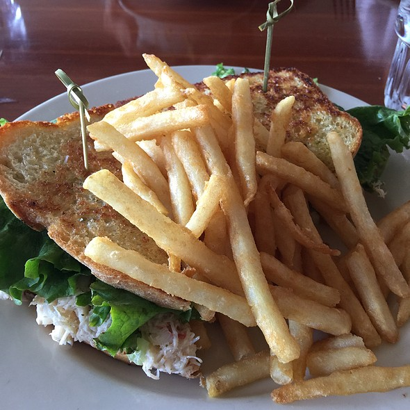 Crab Sandwich - Riva Grill, South Lake Tahoe, CA