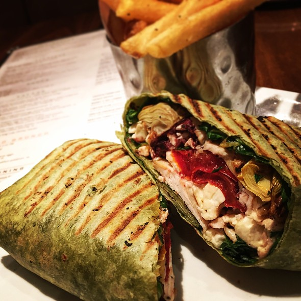 Grilled Chicken Pressed Wrap - Park Grill Chicago, Chicago, IL