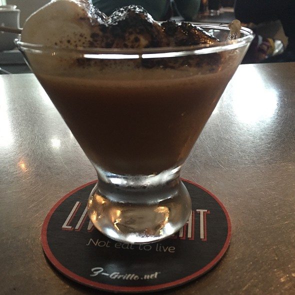 Smores Martini Cocktail - Z Grille, St. Petersburg, FL