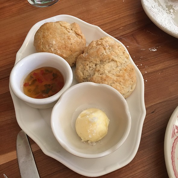 Biscuits And Pepper Jelly - Big Jones, Chicago, IL