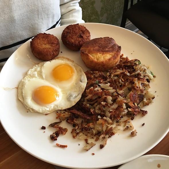 Simple Cajun Breakfast - Big Jones, Chicago, IL