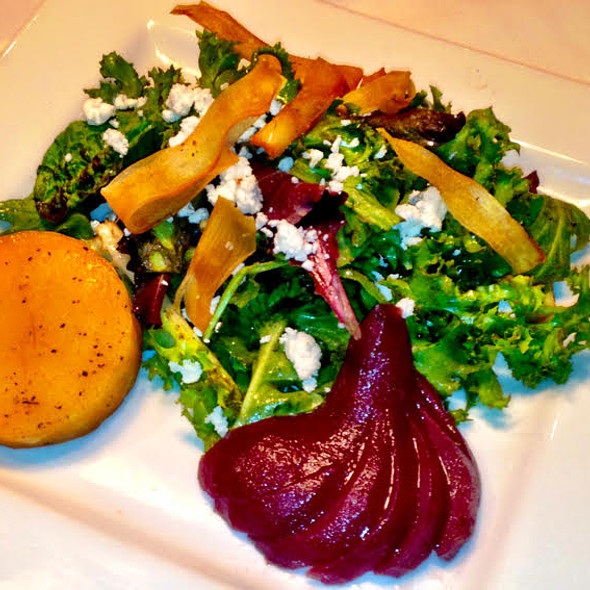 Frisee Salad w/ Beets - Steve and Rocky's, Novi, MI
