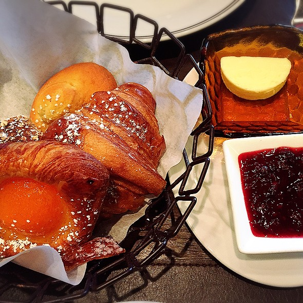 House-Baked Pastry Basket - DBGB NYC, New York, NY