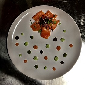 Salmon Sashimi - The Venue Sushi Bar & Sake Lounge, Palm Desert, CA