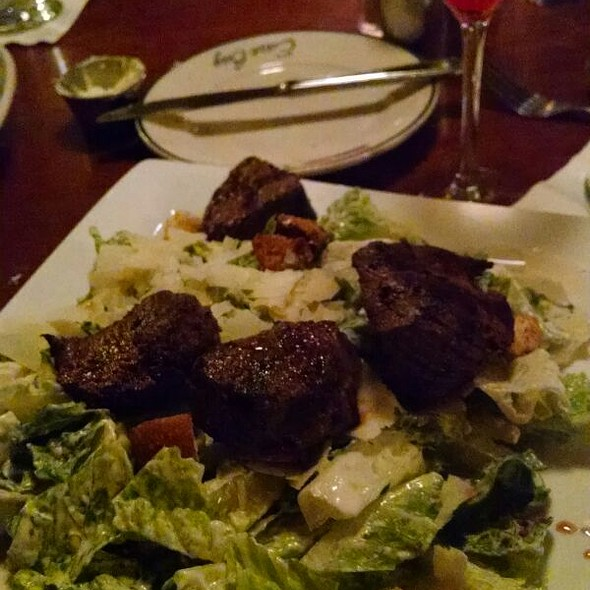 Caesar Salad With Steak Tips - East Bay Grille, Plymouth, MA