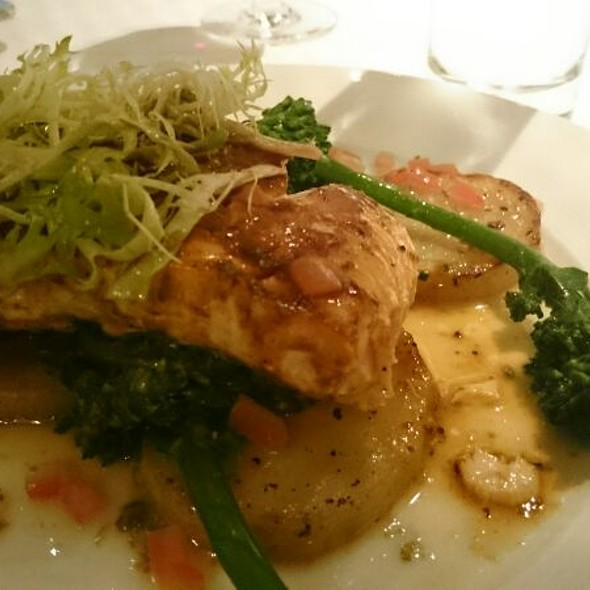 Tamarind-Chili Glazed King Salmon - Bistango, Irvine, CA